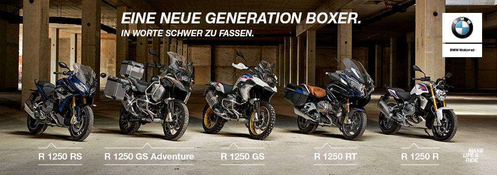 Hechler-Motor - BMW R 1250 RS - R 1250 GS Adventure - R 1250 GS - R 1250 RT - R 1250 R